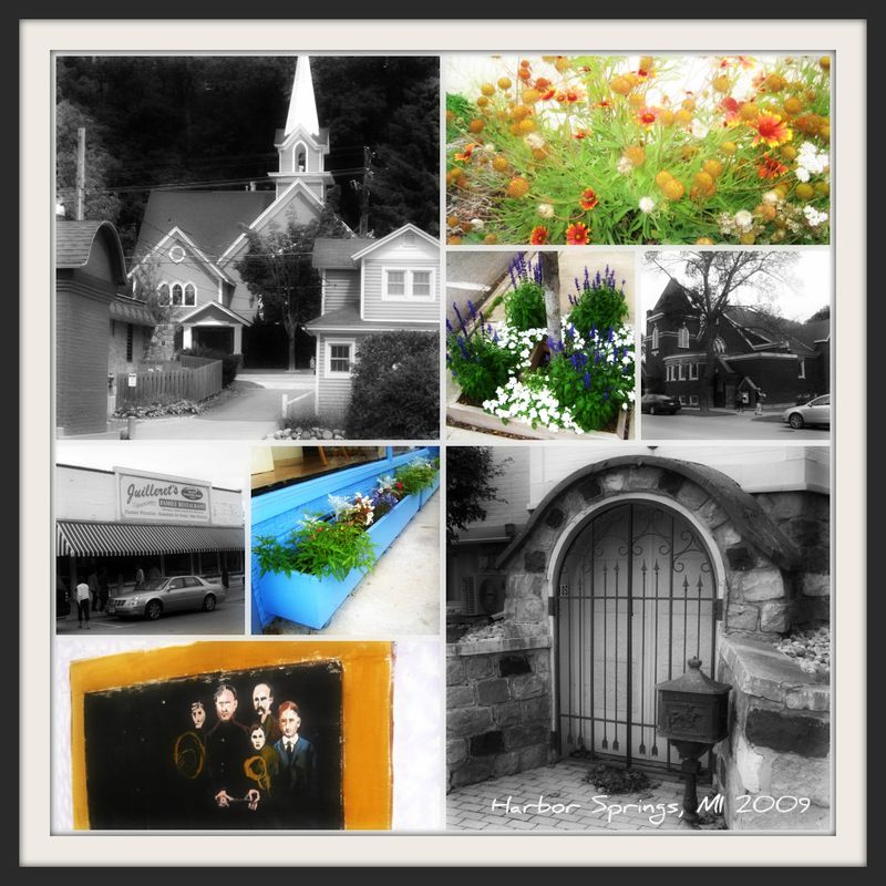 Harbor Springs collage