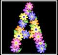 A pastel floral